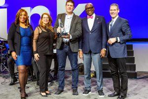 COO da Softplan, Guilherme Brasil, com o time mundial da IBM